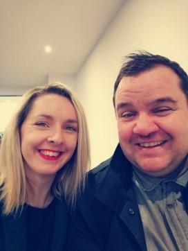 Hannah Dobbs and Stuart Macmanomy